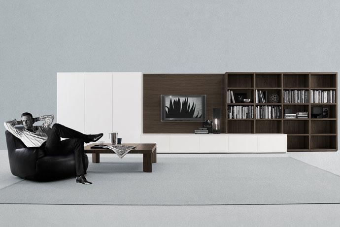 Wood Furniturebiz Products Wall Units Poliform