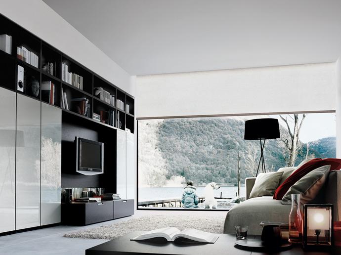 Wood - Furniture.biz | Products | Wall Units | Poliform | Wall System