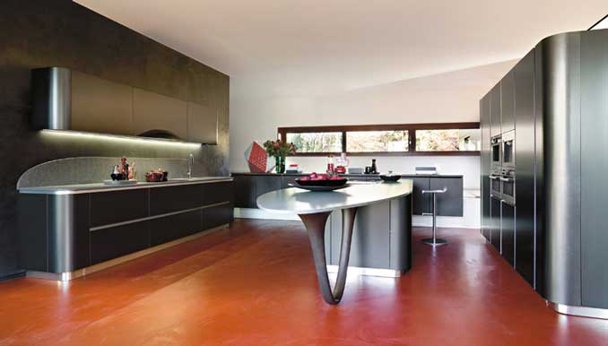 Wood - Furniture.biz | Products | Kitchen Furniture | Snaidero | Ola 20