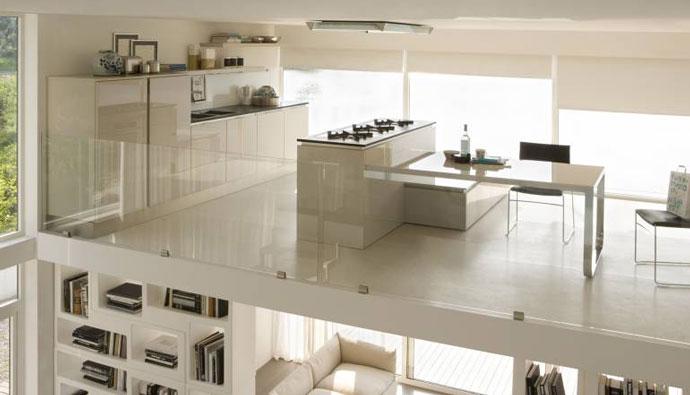 Wood - Furniture.biz  Products  Kitchen Furniture  Veneta Cucine  Tulipano