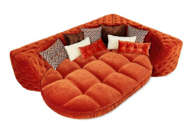 ECKBANK Sofa by Bretz @ Wood-Furniture.biz