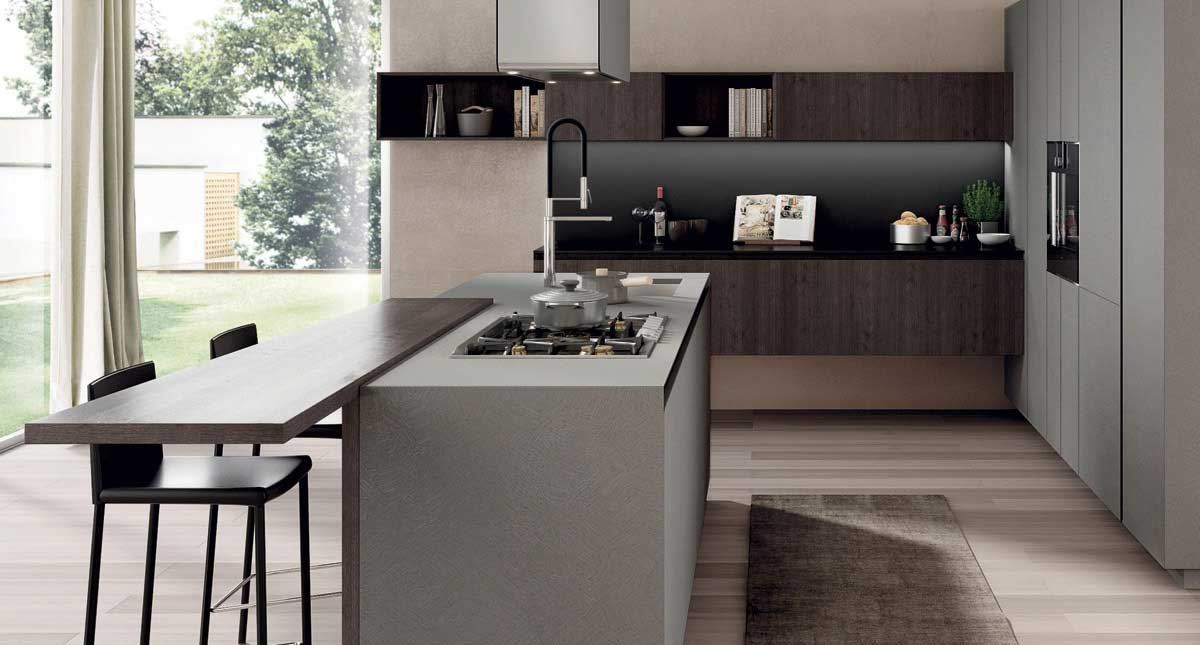 Antis kitchen by euromobil cucine wood - Cucine euromobil ...