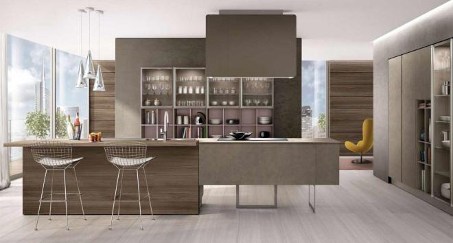 Lain Kitchen by Euromobil Cucine @ Wood-Furniture.biz