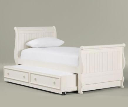 Wood Furniture Biz Products Ethan Allen Classics Jamie Sleigh Bed With Drawer