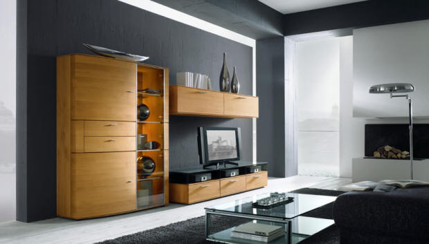 wood products wall units hartmann. Black Bedroom Furniture Sets. Home Design Ideas