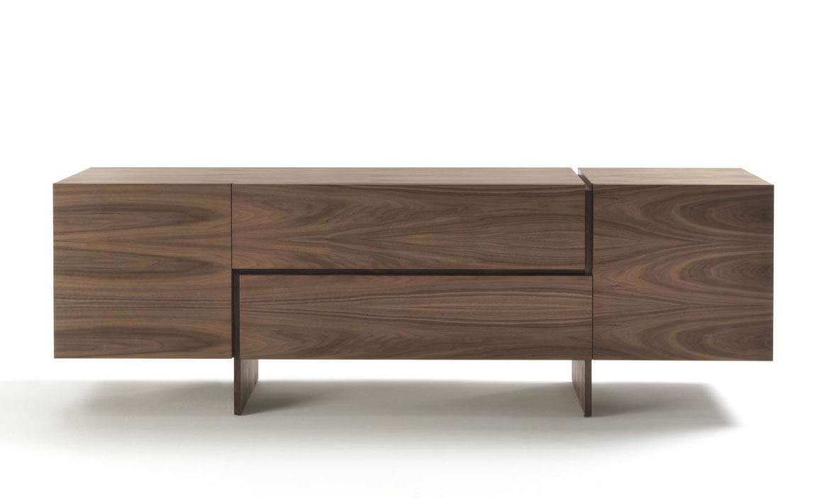 aki sideboard by bartoli design riva 1920 wood. Black Bedroom Furniture Sets. Home Design Ideas