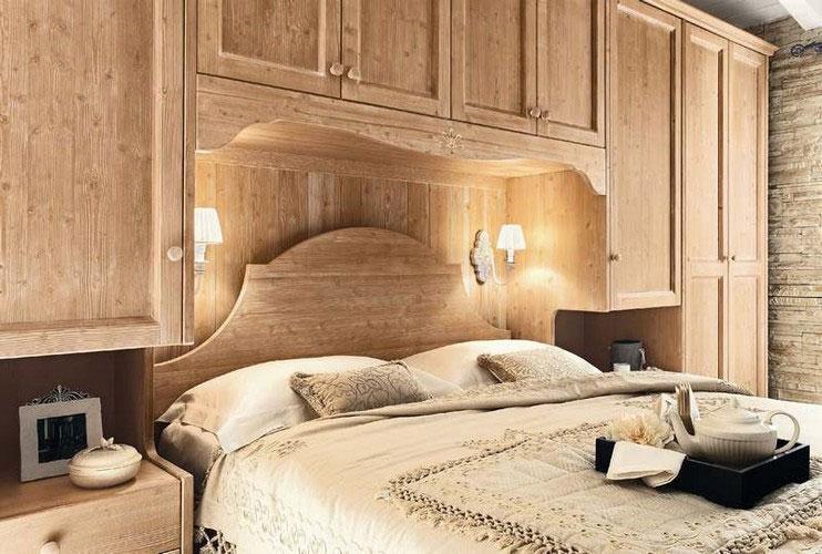 Every day bedroom callesella wood - Camere da letto in legno rustico ...