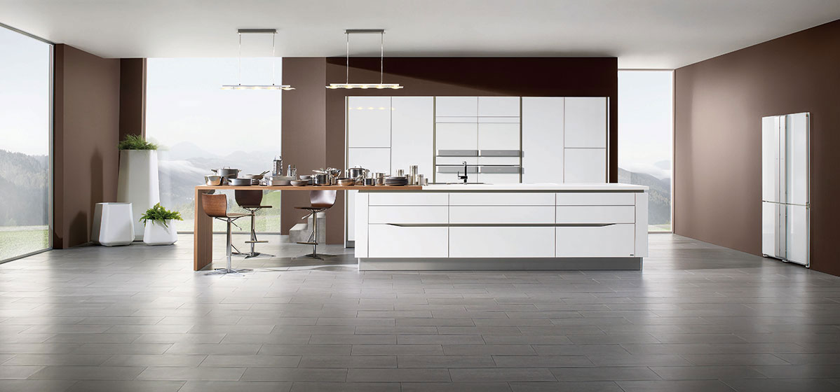 Arthur bonnet rive kitchen wood for Cuisine design