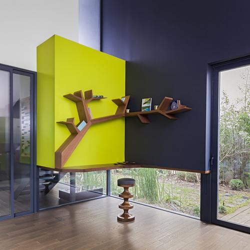 Tree Branch Bookshelf By Olivier Dollé @ Wood-Furniture.biz