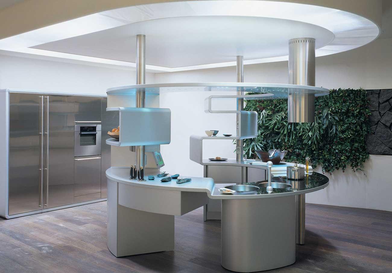 Snaidero | Acropolis - The Kitchen of the Future | Wood - Furniture.biz