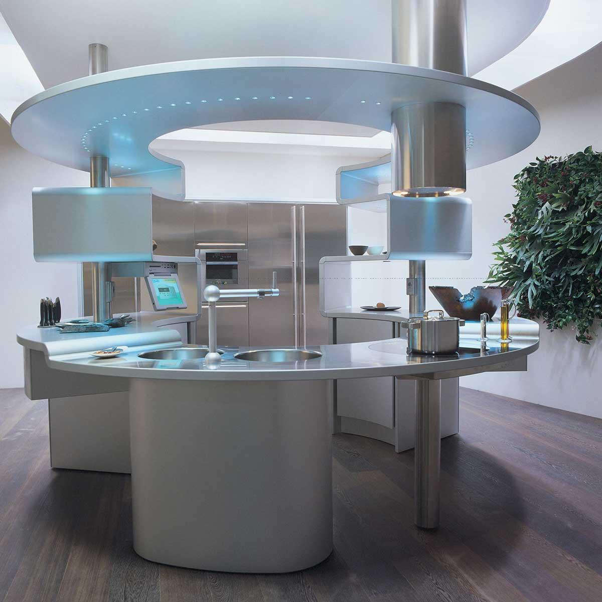 Futuristic Kitchen Stuff: Acropolis - The Kitchen Of The Future