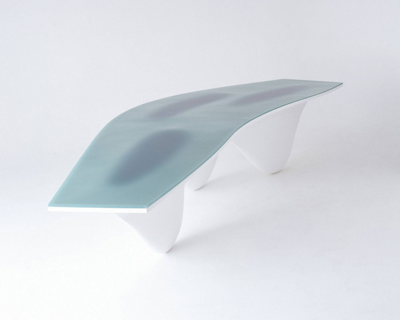 aqua table   zaha hadid architects   wood furniture