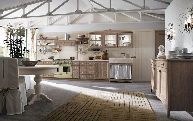 Country Style Kitchens - Callesella - Wood-Furniture.biz