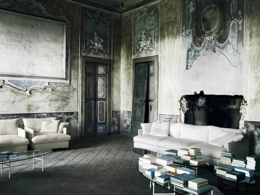 Chemise Sofa By Piero Lissoni Living Divani Wood