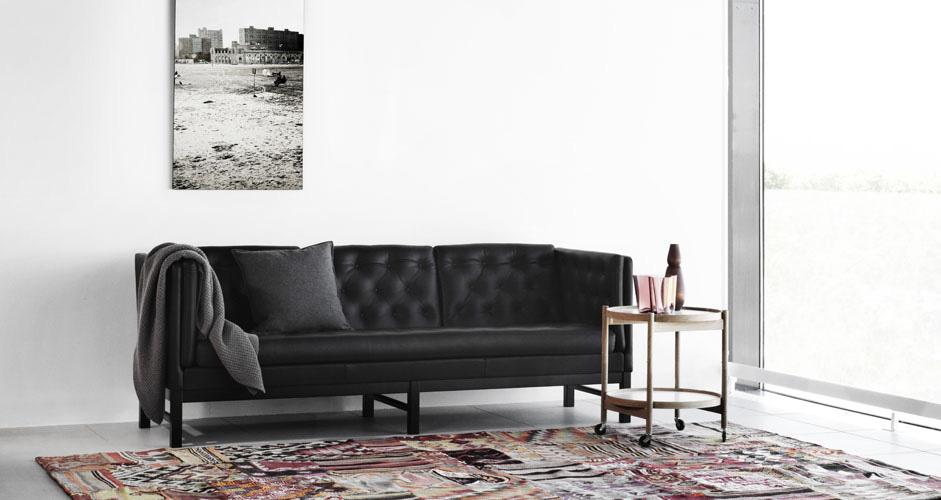 ej 315 sofa erik j rgensen wood. Black Bedroom Furniture Sets. Home Design Ideas