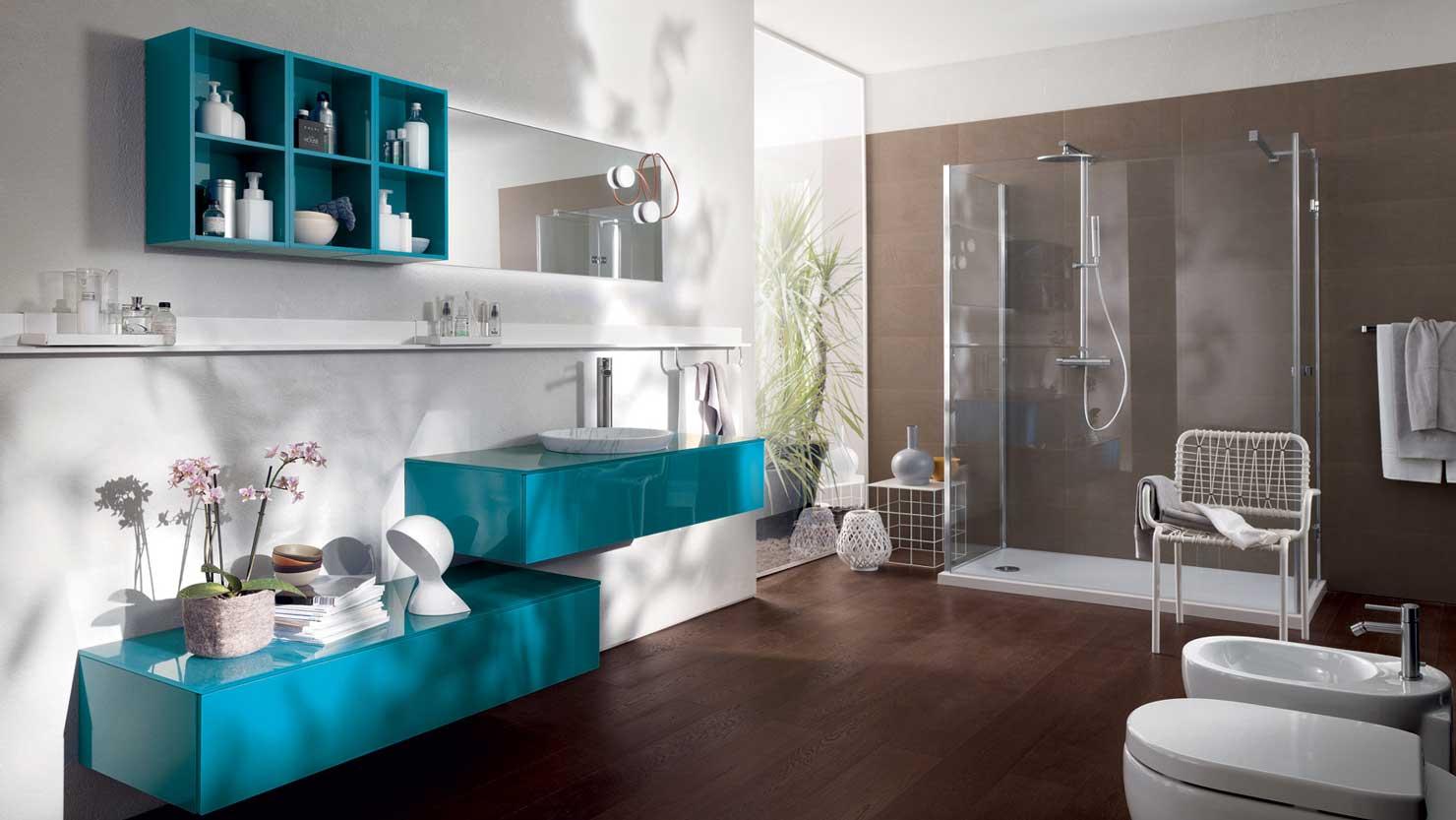 Scavolini font bathroom by studio castiglia associati for Mobili arredo cucina