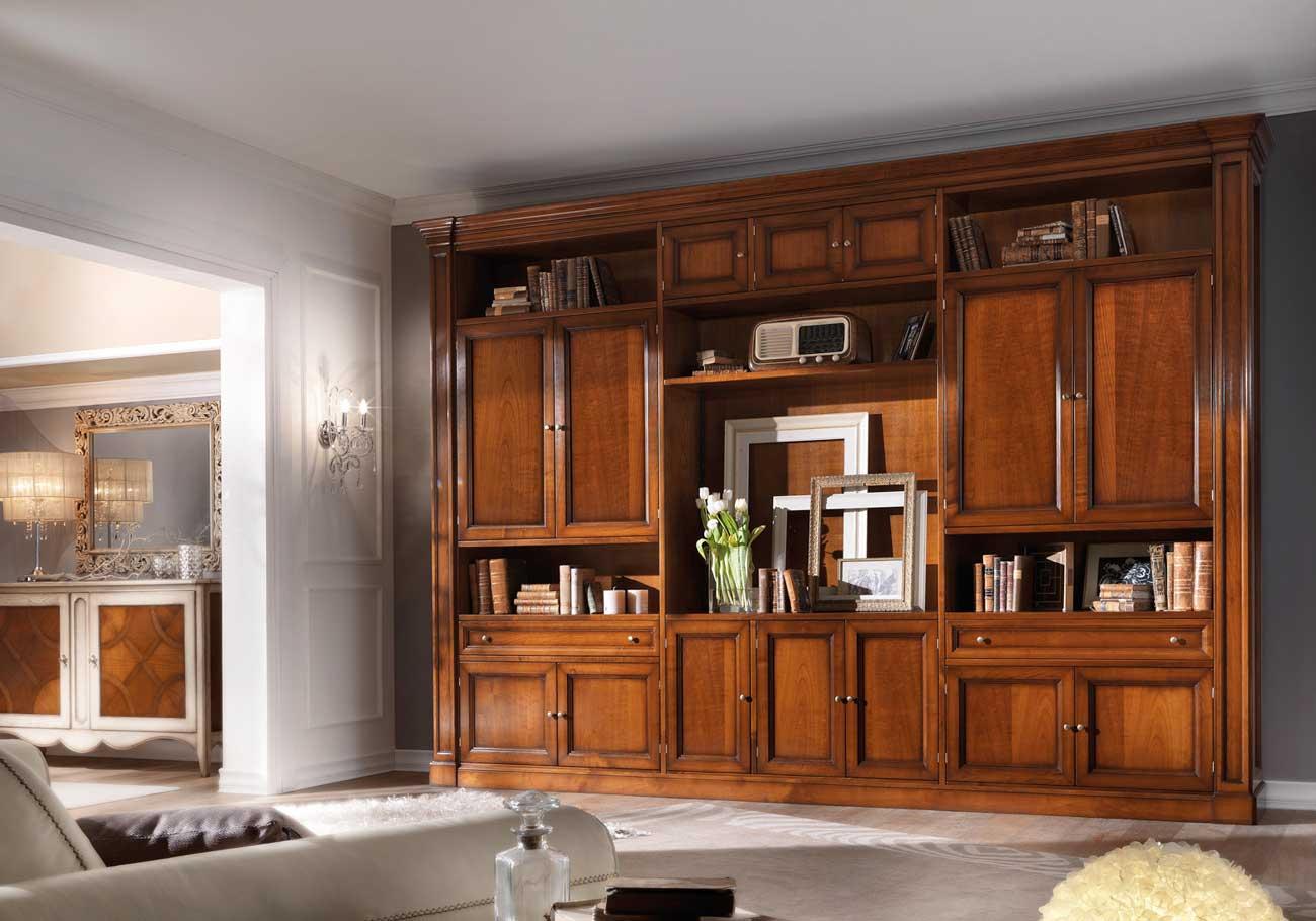 Grenoble Wall Unit - Busatto @ Wood-Furniture.biz