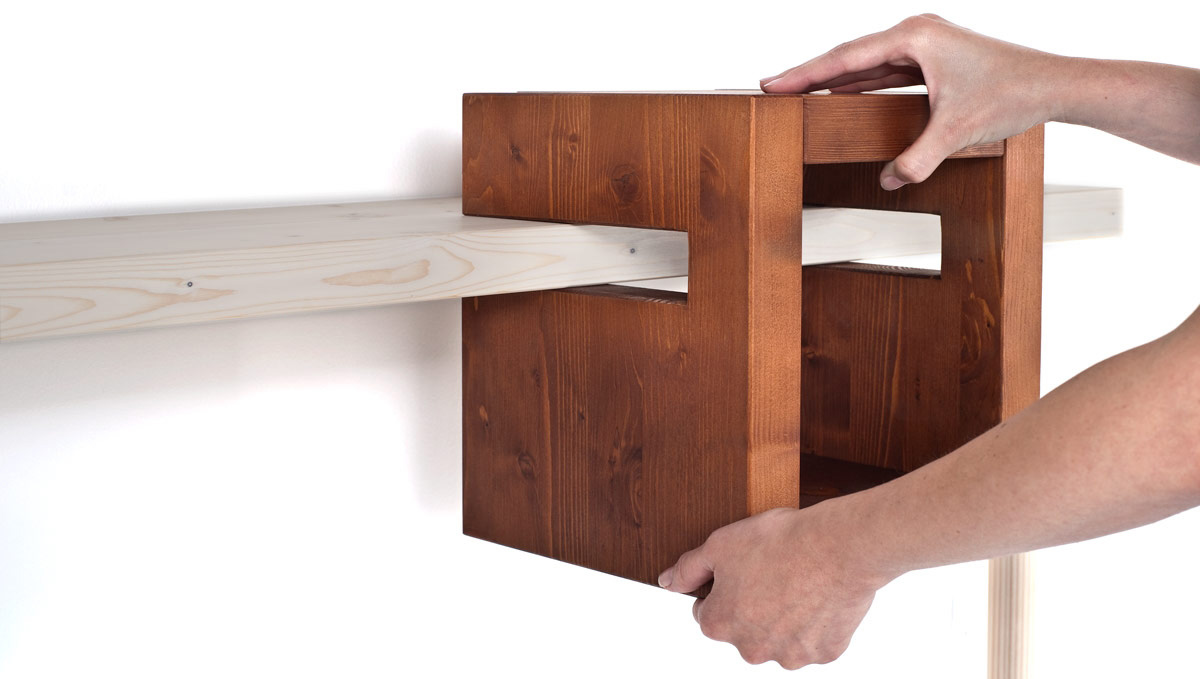 Iggy Console Table, design Luca Longu - Formabilio - Wood