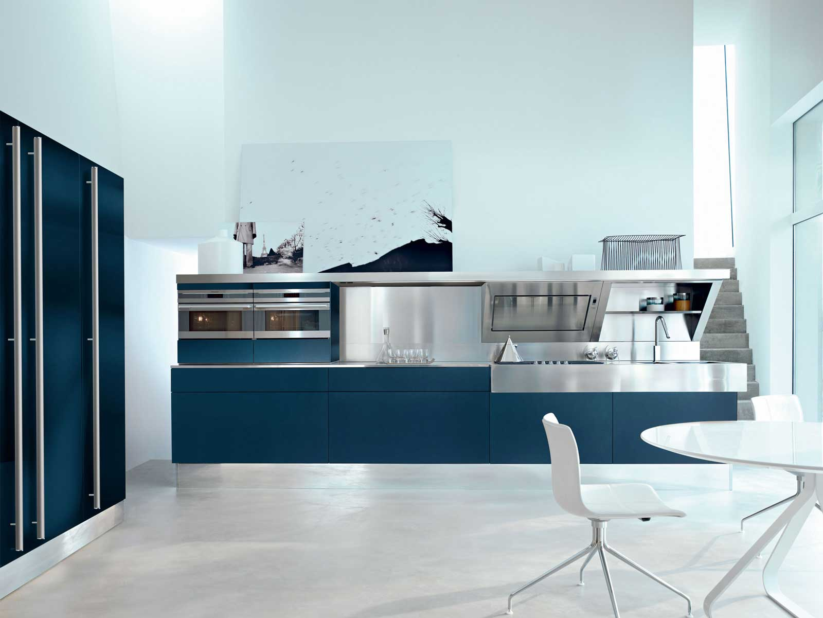 Snaidero | Kube Kitchen | Wood - Furniture.biz