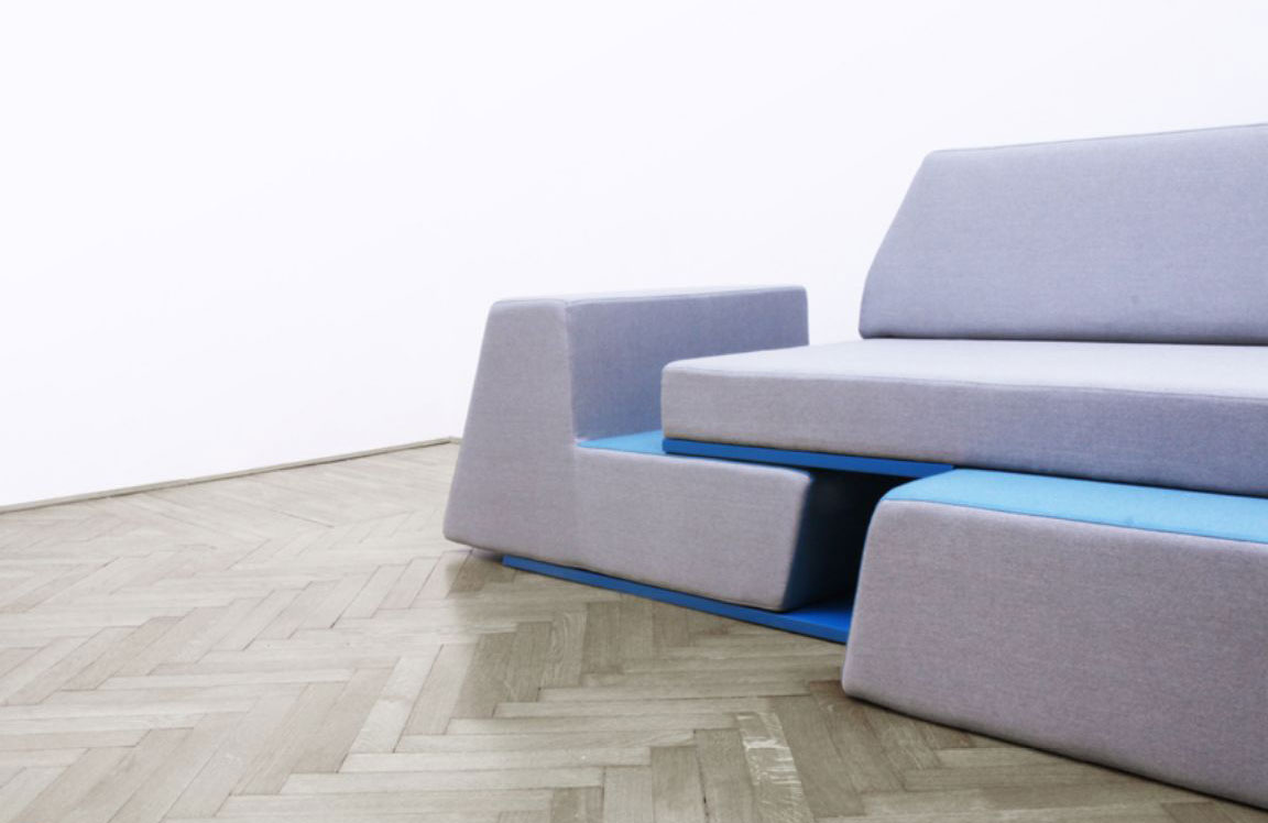 Prime Sofa by Desnahemisfera Wood Furniturez