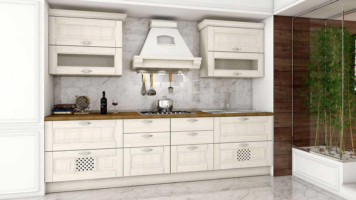 Aerre raffaella kitchen wood for Arredamenti in cartone shop on line