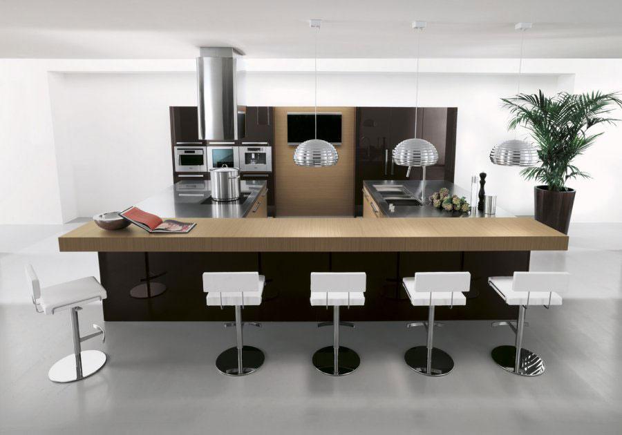 Salina Kitchen Copat Wood