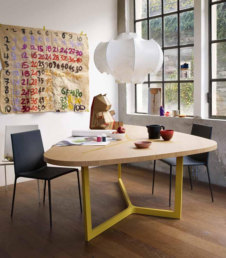 Seven Table By Jean Marie Massaud B amp Italia Wood