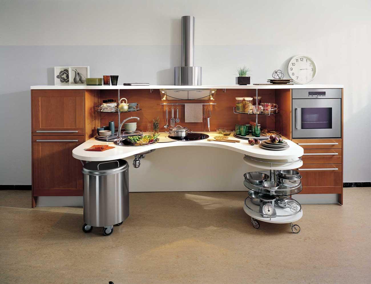 Snaidero skyline lab kitchen wood - Minacciolo cuisine ...