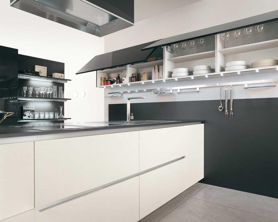 Stainless Steel Black Kitchen