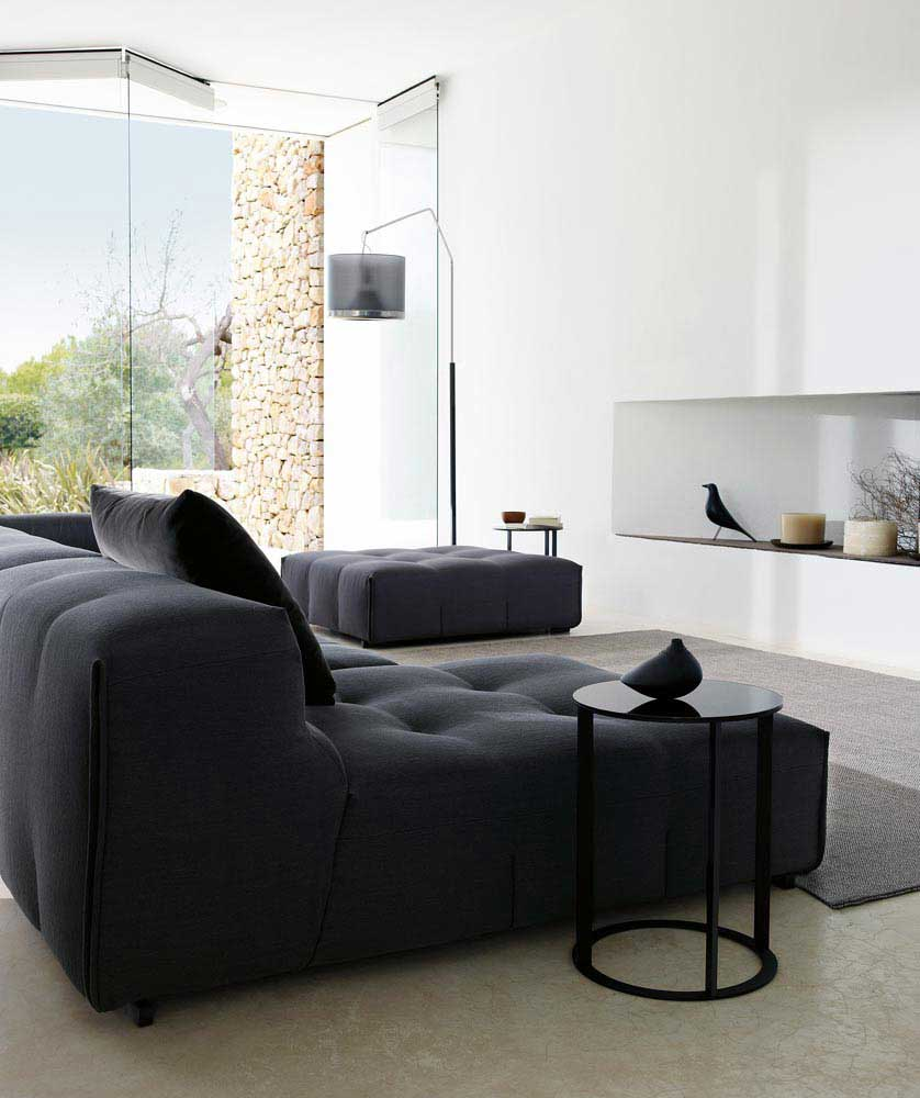 tufty too sofa b b italia wood. Black Bedroom Furniture Sets. Home Design Ideas