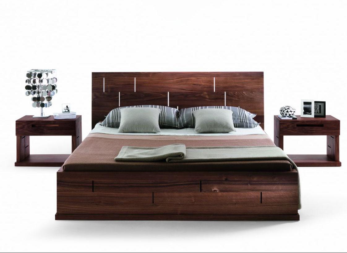 Vera bed riva 1920 wood - Sofas con madera ...