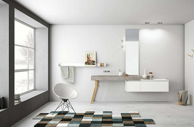 Aria Bathroom by Imago Design for Altamarea