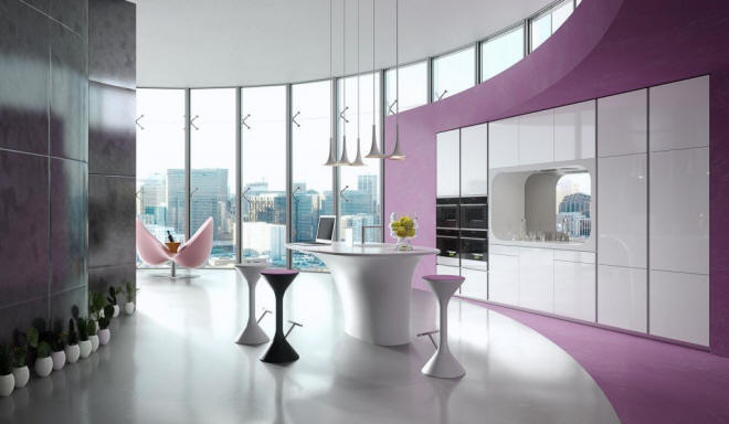 Karan Kitchen by Karim Rashid for Rastelli Cucine
