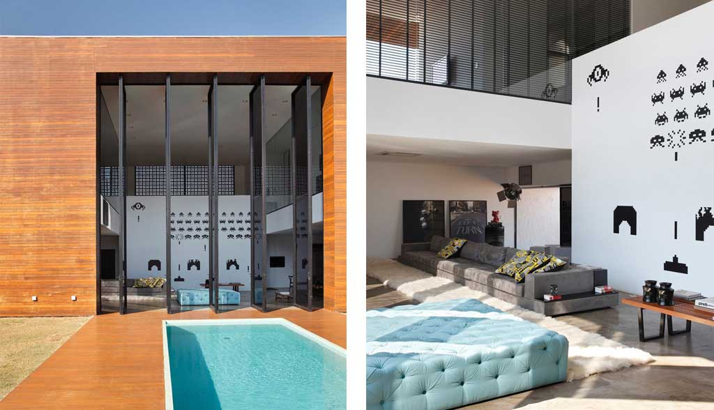 La House By Studio Guilherme Torres Wood