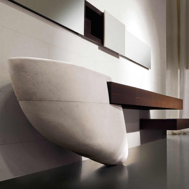 Le Acque Bathroom by Claudio Silvestrin for Toscoquattro