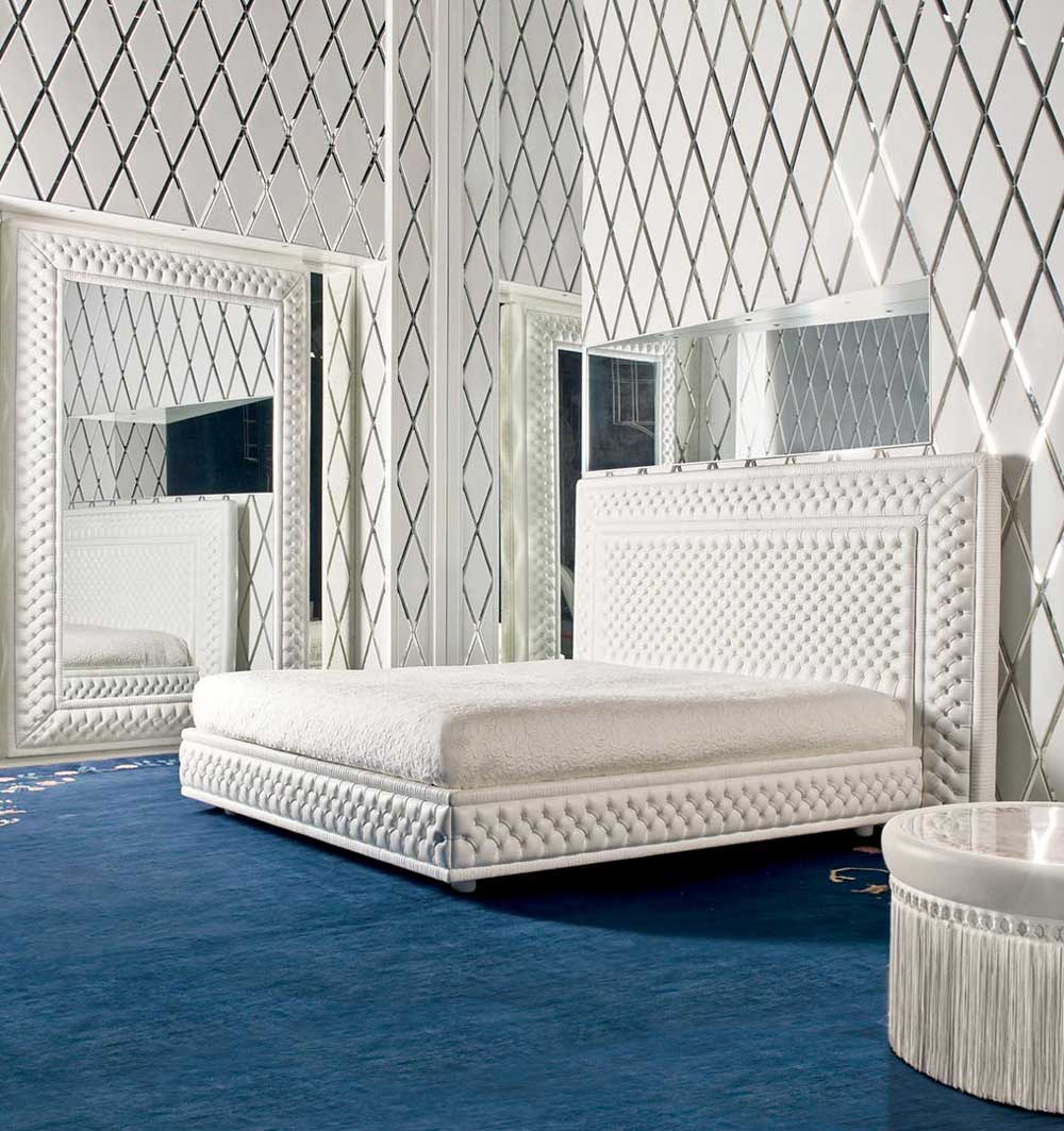 Magnificence Bed Mascheroni Wood