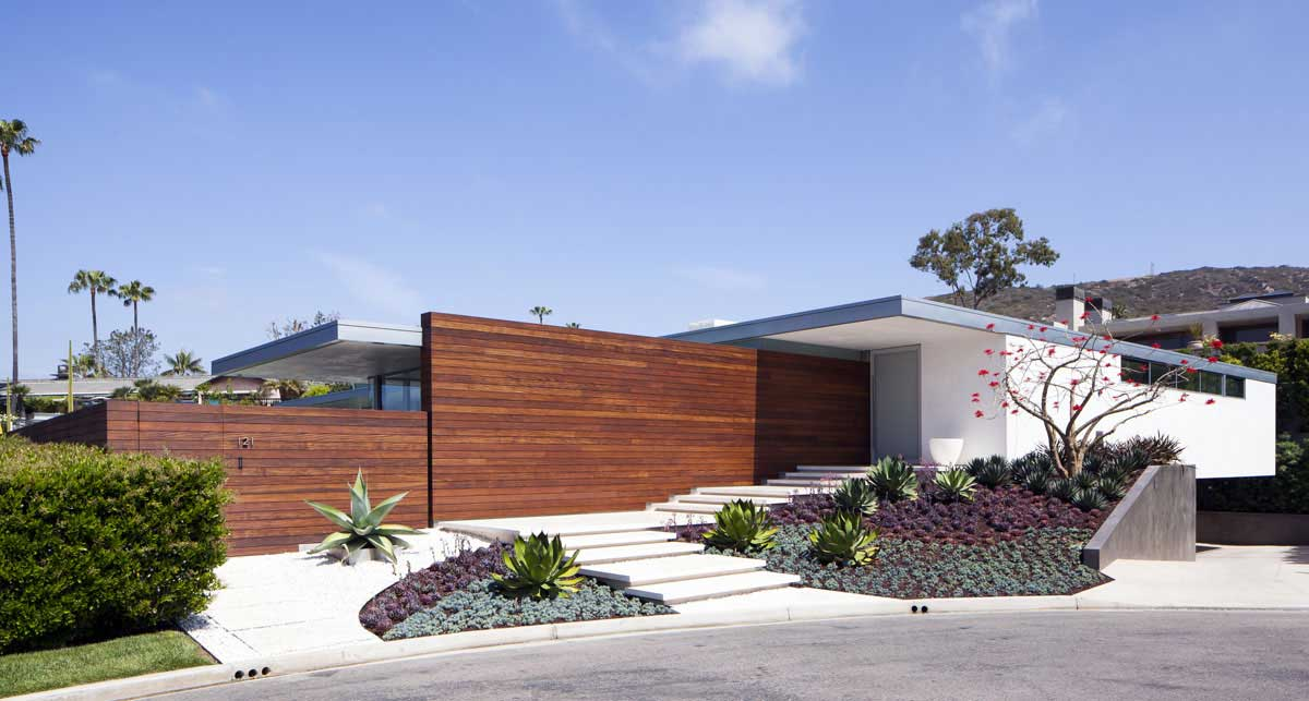 Mcelroy residence by ehrlich architects wood - Limposante residence contemporaine de ehrlich architects ...