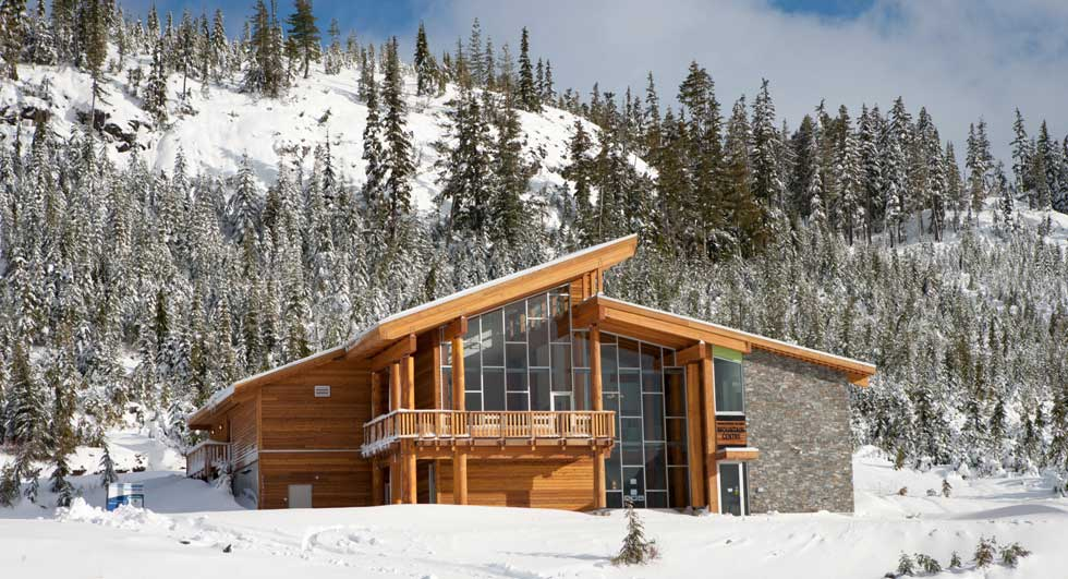 Vancouver Island Mountain Centre by CEI Architecture Wood