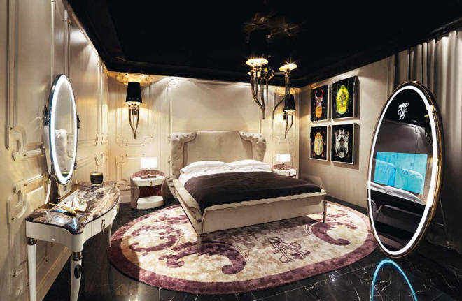 Alice Bedroom by Alessandro La Spada for Visionnaire