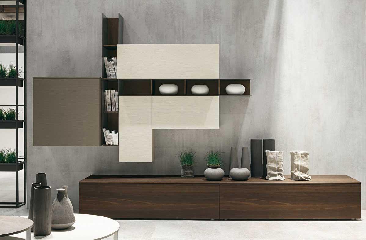Atlante Wall Unit Tomasella Wood Furniture Biz