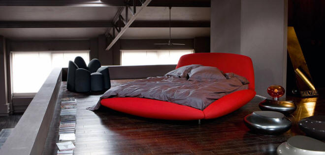 Callison Bed by Maurice Barilone for Roche Bobois