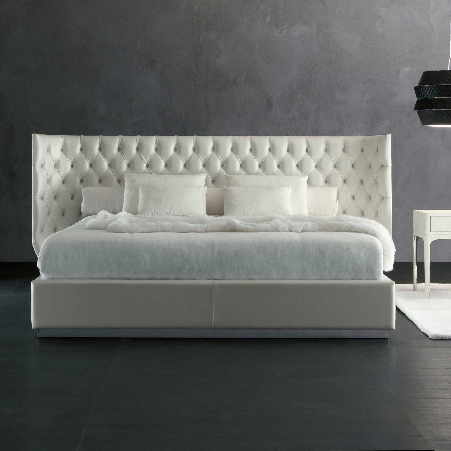 Upholstered Beds Rugiano Italy Wood Furniturez
