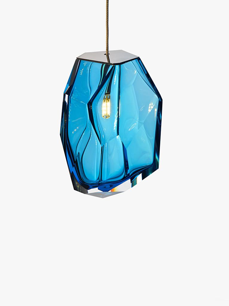crystal rock lighting by arik levy lasvit wood. Black Bedroom Furniture Sets. Home Design Ideas