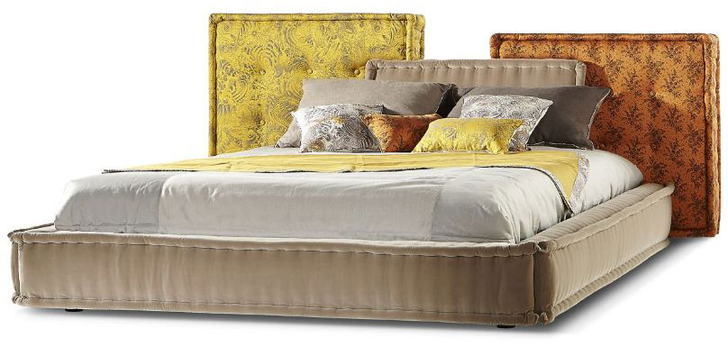 Image Result For Bed With Headboard
