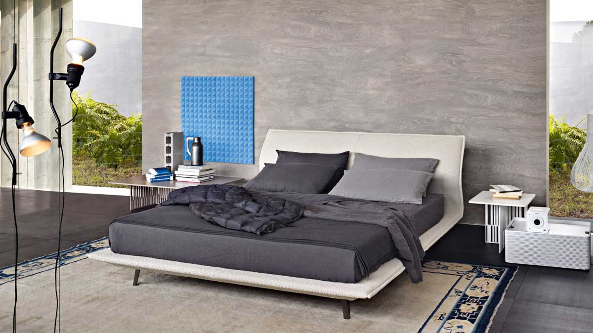 Night day bed by patricia urquiola molteni wood - Camere da letto molteni ...