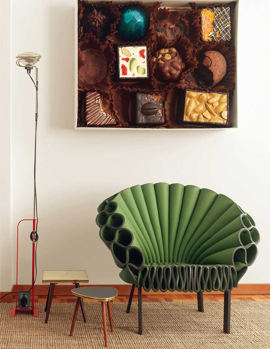 The Peacock Chair by Dror Bershetrit for Cappellini Wood