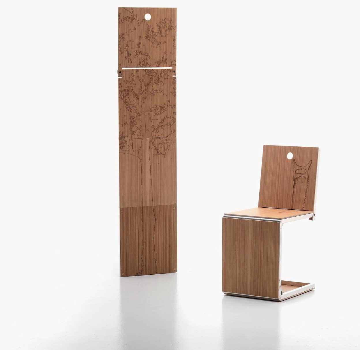 The Pick Chair by Dror Bershetrit Wood Furniturez