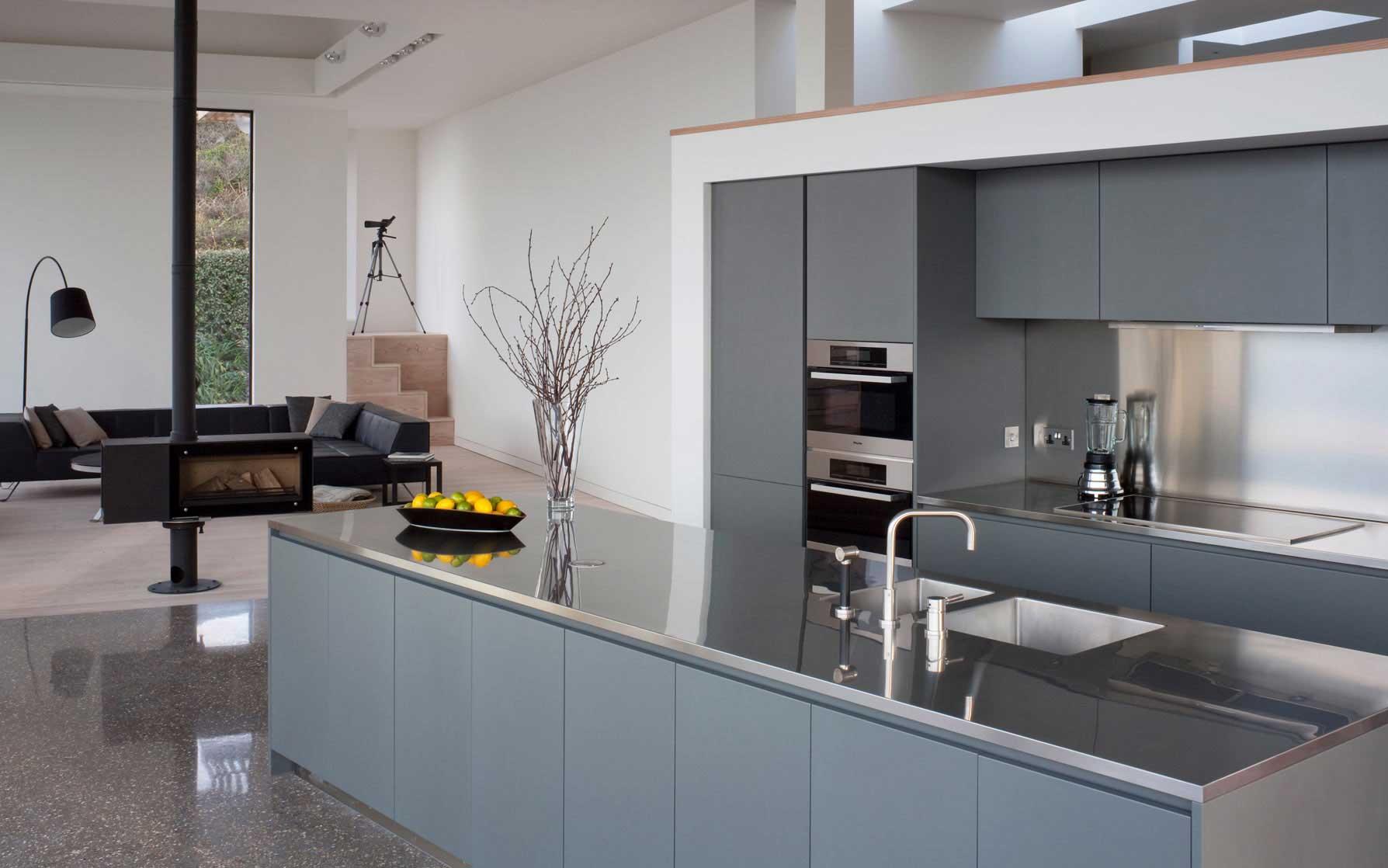 Современные кухни-студии дизайн