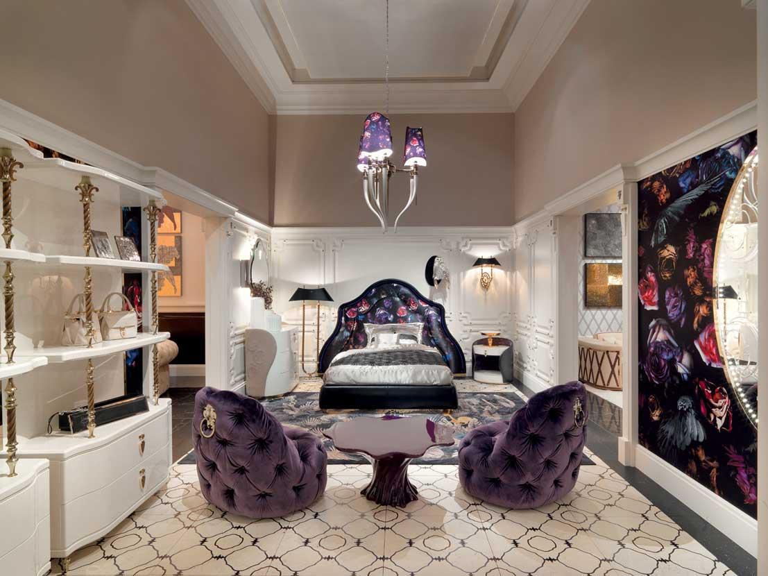 Primrose bedroom by alessandro la spada for visionnaire for Home decor advice