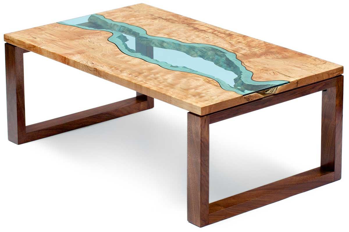 river collection by greg klassen wood. Black Bedroom Furniture Sets. Home Design Ideas
